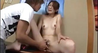 Milf mom was blackmailed by son's friend and get fucked - Pt2 On HdMilfCam.com