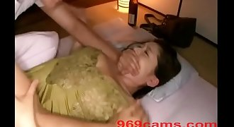 Japanese Wife Force Fuck While Sleeping