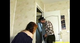 French daddy fucking his beauty daughter