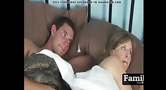 Big-titted Mom And Son Share a Hotel Bed- FREE Mother Videos at Familf.us