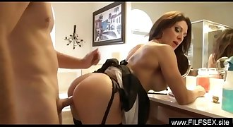 Son Fuck's Mom Before Going To School - www.FILFSEX.site